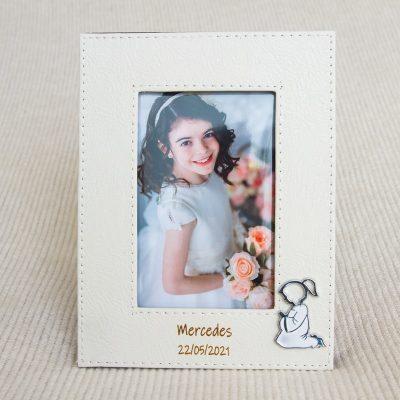Detalles comunión personalizados portafotos