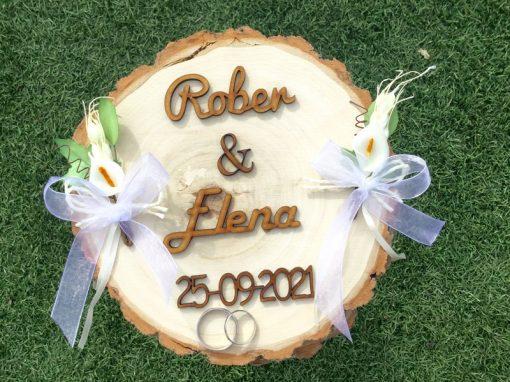 Porta alianzas bodas